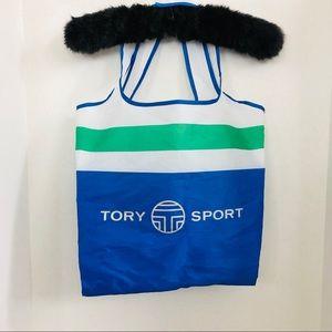 TORY BURCH Sport Reusable Nylon Tote Beach Bag
